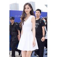 HÀNG LOẠI I - Đầm Xòe Trắng Dễ Thương  Angela Baby