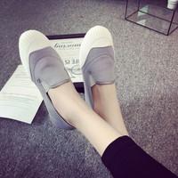 Slip-on nữ -giày lười nữ