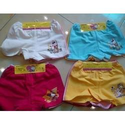 Lốc 12 quần chip đùi kitty cho bé yêu mặc váy, mặc nhà thoáng mát mẻ