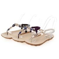 Sandals nữ xỏ ngón, dáng quai chéo