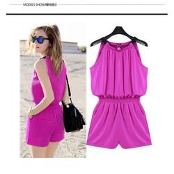 Jumpsuit thời trang yếm dây -TH07083