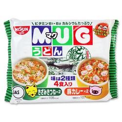 Mỳ ăn liền Mug Nissin Nhật Bản Cho Bé
