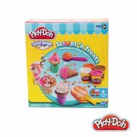 Đất nặn Play-Doh bộ làm kem sắc màu