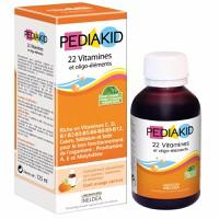Vitamin Pediakid tổng hợp bổ sung 22 vitamin - hàng nhập Pháp