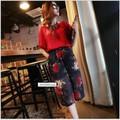 Set áo và quần ống rộng họa tiết YW540