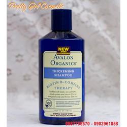 Avalon Organics Thickening Dầu gội ngăn rụng kích thích tóc mọc