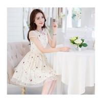 Đầm xòe công chúa hoa tigon -DV2419