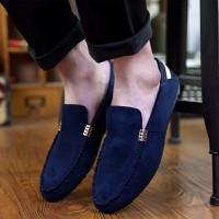 Giày lười da lộn Glado - G43