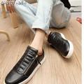 Giày nam dây kéo hàn quốc  Mã: GH0127 - ĐEN