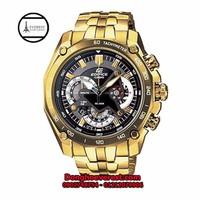 đồng hồ casio 550 gold mặt đen