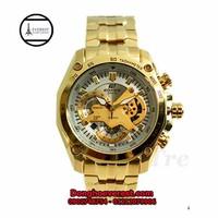 đồng hồ casio 550 gold mặt trắng