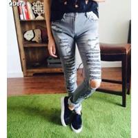 Quần jeans nữ rách Mã: QD679