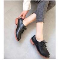 Giày oxford gót bính