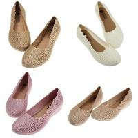 Giày sục nữ đế bệt, thoáng khí, giá chỉ 45k