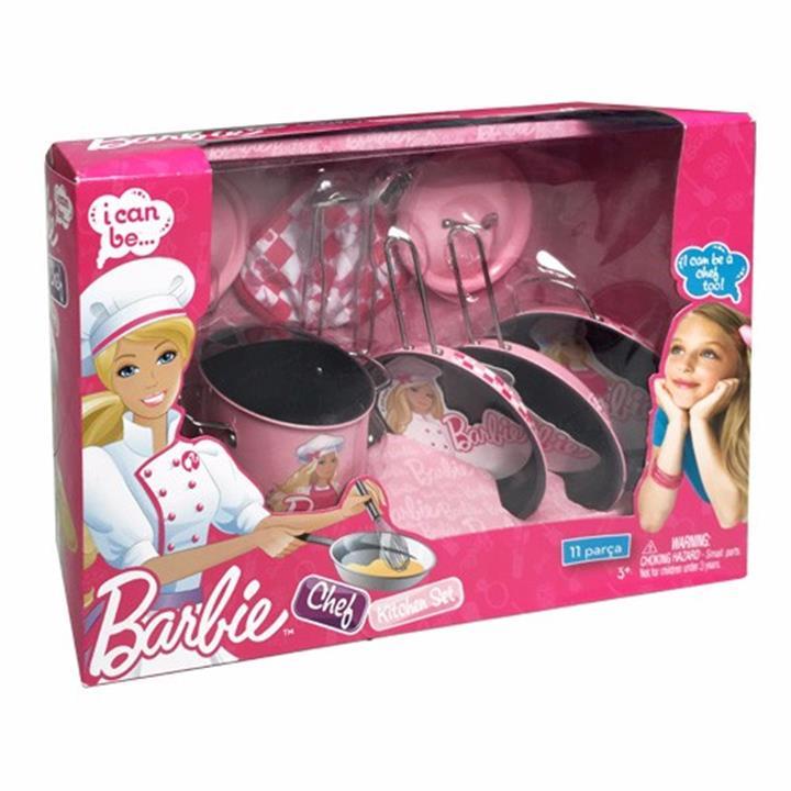 bo dung cu nau an barbie 11 mon ch20315em bb 1m4G3 04793d Vui hơn cả ngày cùng với đồ chơi nấu ăn Popin Cookin