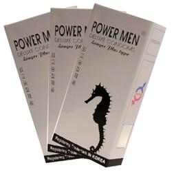 Bao cao su Power Men Longer Plus Type – Siêu chống xuất tinh sớm