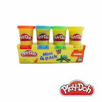 Đất nặn Play-Doh bột nặn 4 màu mini