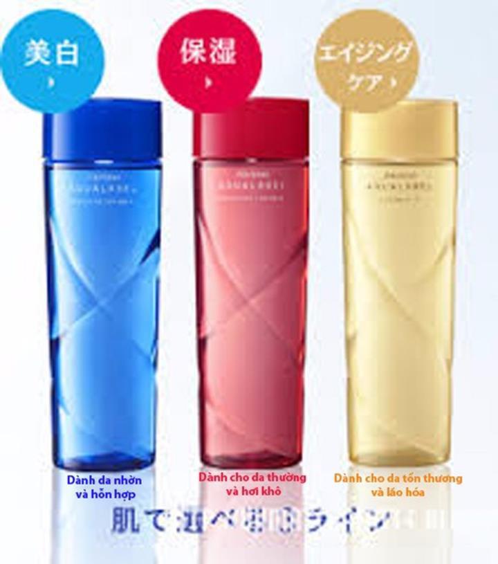 Nước hoa hồng SHISEIDO AQUALABEL MOISTURE 1