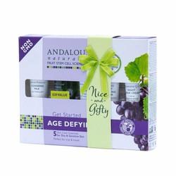 Bộ sản phẩm chống lão hóa cho da khô nhạy cảm Age Defying - Andalou