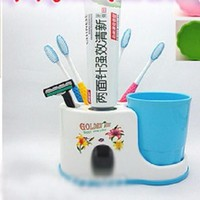 Máy Xịt Kem Tự Động Toothpaste Đa Năng