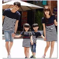 Áo Váy Gia Đình Cao Cấp  AGD1599