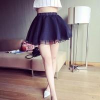 Chân váy lưới xòe nữ tính Mã: VN339