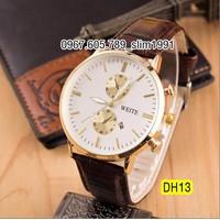 Đồng hồ thời trang nam cao cấp dây da DH13