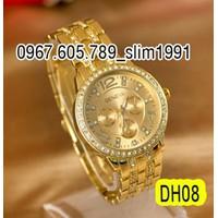 Đồng hồ thời trang nữ Geneva đính đá sang trọng DH08