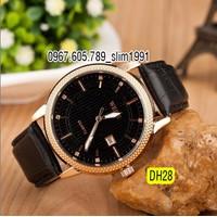 Đồng hồ nam WEITE dây da cao cấp DH28B