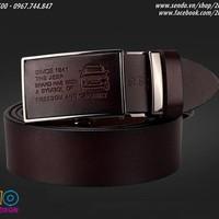 Thắt lưng da bò thời trang JEEP  - Mã số: TL1520