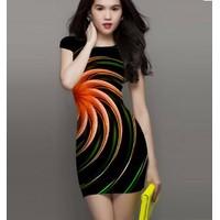 Đầm công sở sắc màu cs268