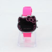 Đồng hồ Nữ Kitty Led D0246-DHA087 - Kim Quay - Hồng