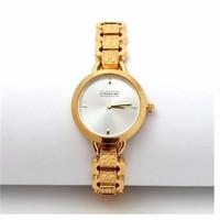 Đồng hồ lắc tay nữ giá rẻ Coach vàng CoaV036