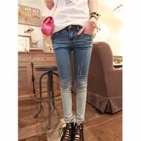 Quần jeans dài chuyển màu Mã: QD240