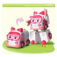 Xe đồ chơi Robocar Poli Robot Xe cứu thương 8189B