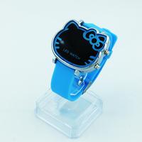 Đồng hồ Nữ Kitty Led D0247-DHA072 - Kim Quay - Xanh dương