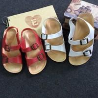 Giày sandal nhựa 2 quai ngang 2 khóa