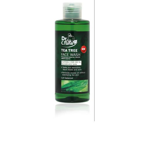 Gel sửa mặt cho da mụn và da dầu  trà tràm Farmasi tea tree Wash Gel 225ml
