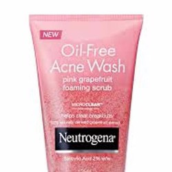 Sữa rửa mặt Oil-Free Acne Wash Pink Grapefruit FC 124ml