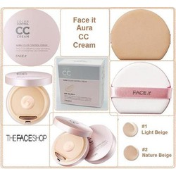 CC Cream Face It Aura Color Control Cream TheFaceShop