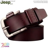 Thắt lưng da bò thời trang JEEP - Mã số: TL1524