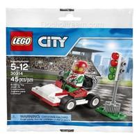 Đồ chơi Lego City Xe đua của Kart 30314