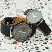 Đồng hồ Cặp Demei D0331-DHA120-DHC - Kim Quay - Đen