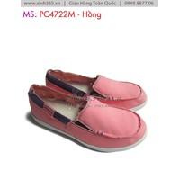 Giày mọi nữ vải bố PC4722M - Hồng A