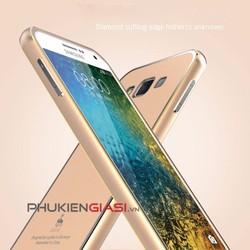 Ốp lưng Galaxy E7 giả nhôm khối thế hệ mới chính hãng Luphie