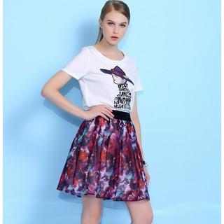 Set áo và chân váy họa tiết cao cấp XY825 - XY825 thumbnail