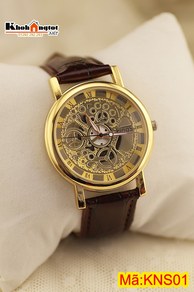 dong ho nam day da gia co cao cap kings kns01w 1m4G3 d65a19 Cần phải đề phòng nếu tìm chọn đồng hồ Casio