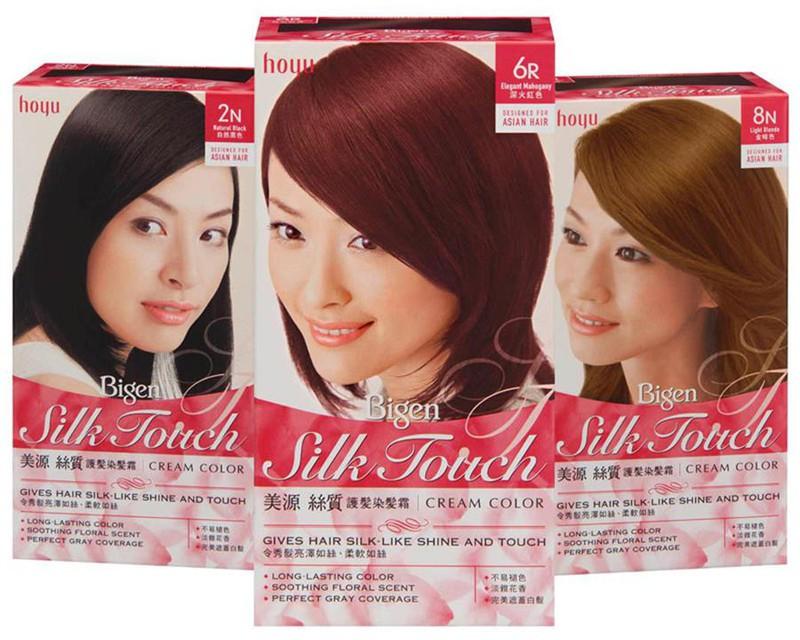 Thuốc nhuộm tóc Bigen Silk Touch 4