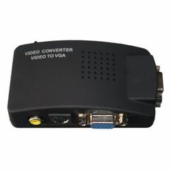 Bộ chuyển tín hiệu SVIDEO + AV + Vga sang Vga