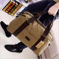 Túi xách trống vải thô dây nâu - hàng đẹp